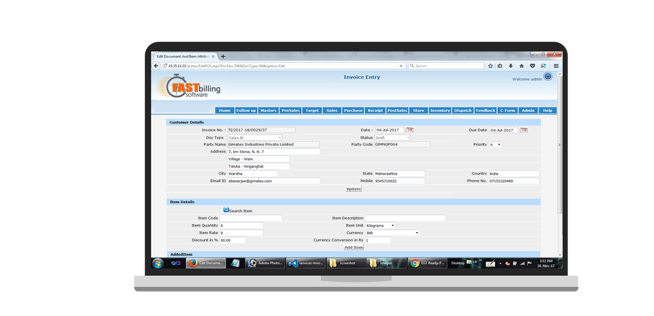 Hospital Management Billing Medical Billing Software Billing - Invoice software in india
